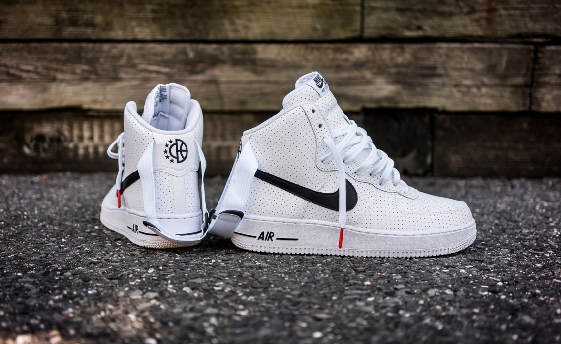 quality design c9078 8dc22 Nike Air Force 1 High Gets Perforated Leather