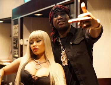 Nicki Minaj and Meek Mil