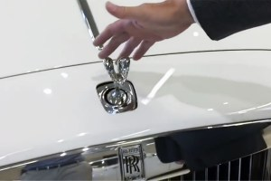 Steal a Rolls-Royce's Hood Ornament