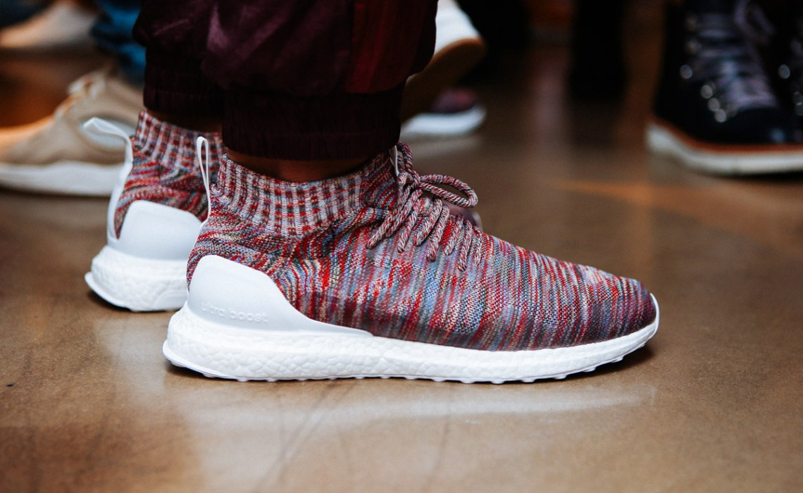 new product 7495c bbd72 First Look at Ronnie Fieg x Adidas Ultra Boost Mid