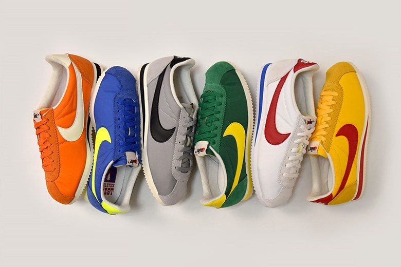 wholesale dealer 62724 cd3ef Nike Pays Homage to the Athletics West With Cortez Pack