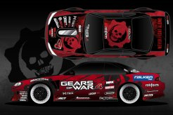 Formula DRIFT Matt Field x Gears of War 4 Car