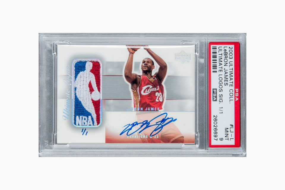 Signed Lebron James Rookie Card Fetches 312k At Auction