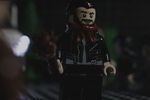 Deaths of Glenn & Abraham Redone in LEGO
