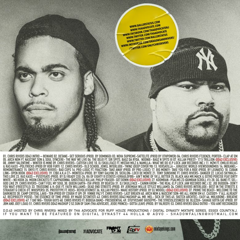 Digital Dynasty 43 (Hosted By Chris Rivers) (Mixtape) - BACK
