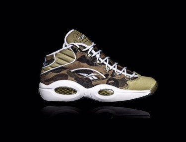 BAPE x Reebok Question Mid