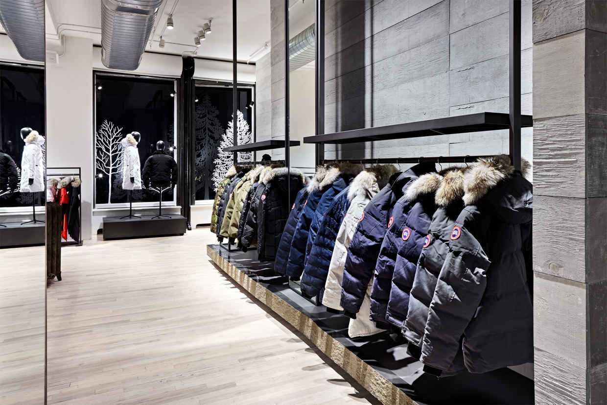 canada goose store new york city
