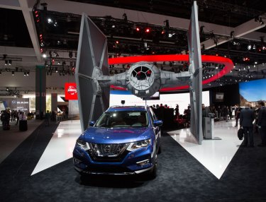 Nissan Star Wars Experience to LA Auto Show