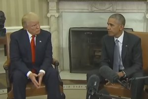 Donald Trump & President Obama Meet at White House For First Time