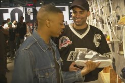 Vince Staples doing Sneaker Shopping