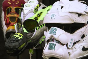 Freehand Profit: Making Gas Masks From Sneakers