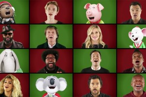 Jimmy Fallon Wonderful Christmas A Cappella
