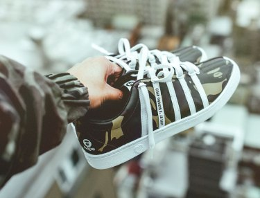K-Swiss x AAPE By BAPE Collection