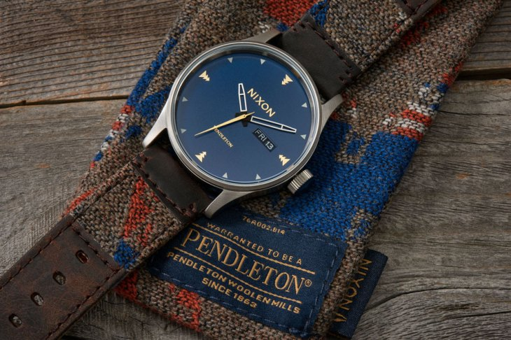 Nixon x Pendleton Holiday 2016 Capsule