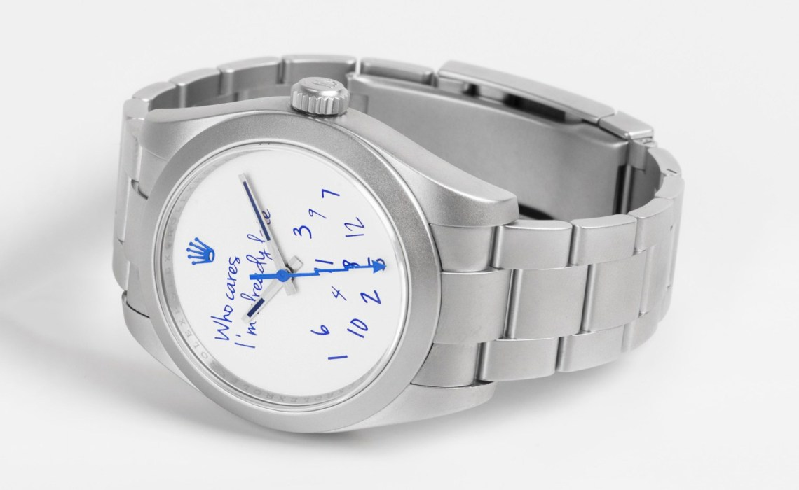 Colette x Mad Paris Rolex Milgauss Who Cares