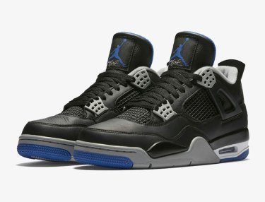 Air Jordan 4 Black/Royal