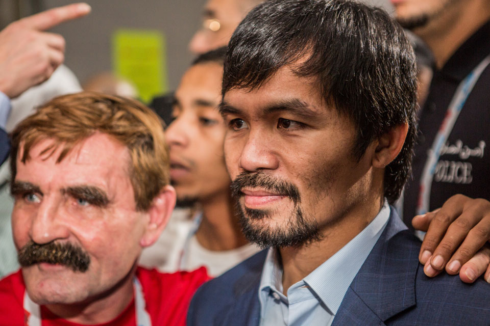 Manny Pacquiao Wants Rematch With Floyd Mayweather