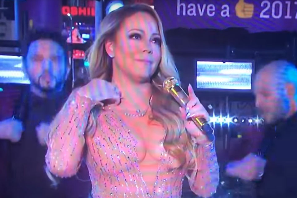 Mariah Carey Addresses New Year's Eve Performance Gone Wrong: 'S**t Happens'