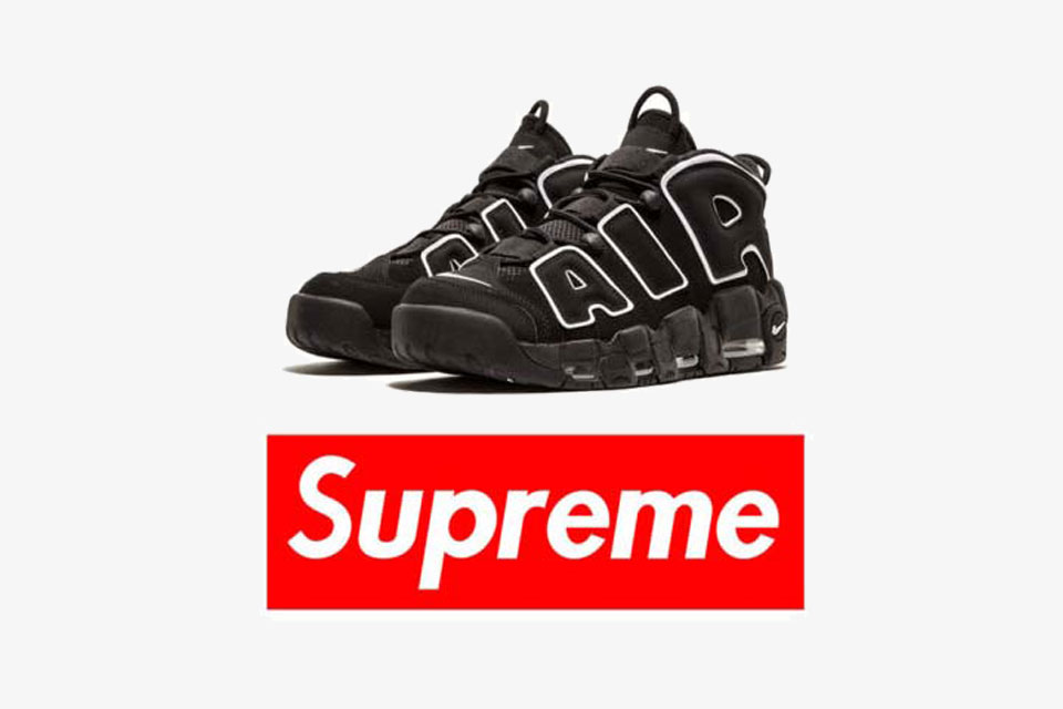 reputable site 01efb 26afe A Supreme x Nike Air More Uptempo in the Works
