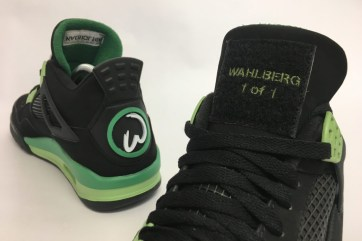 Mark Wahlberg's 1-of-1 Air Jordan 4