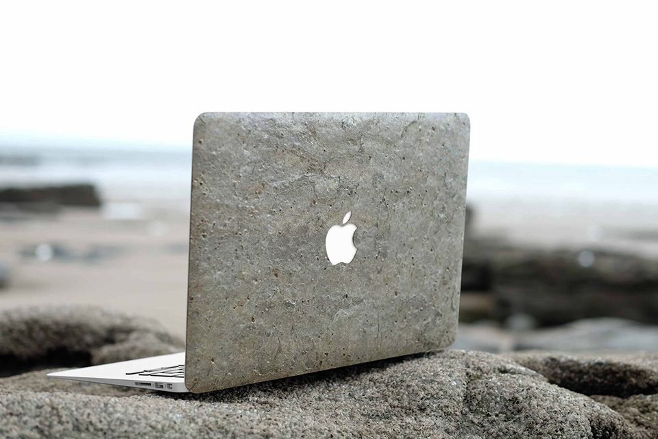 purchase cheap c8c7e bf99a Cover-Up Releases Real Stone Cases For MacBook & iPhone 7