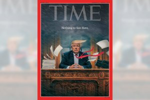 TIME - Donald Trump cover