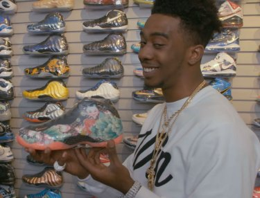 Desiigner Goes Sneaker Shopping
