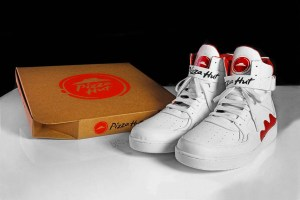 Pizza Hut x Grant Hill Pie-Top Sneakers