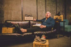 Kanye West Gifts Ric Flair Pairs of Yeezy BOOST 350 V2s