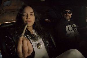 Michelle Rodriguez Visits B-Real's Smokebox