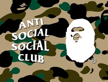 BAPE x Anti Social Social Club Collaboration Teaser