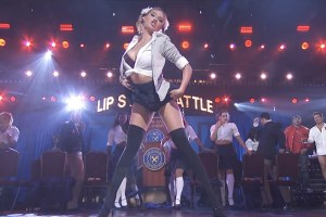 Kate Upton Perform Britney Spears Lip Sync Battle