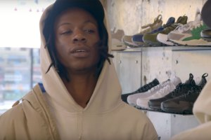 Joey Bada$$ Goes Sneaker Shopping