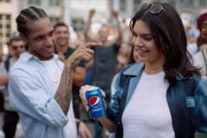 Kendall Jenner in Pepsi ad