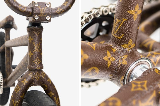Nigel Sylvester Wrapped a BMX Bike in Louis Vuitton