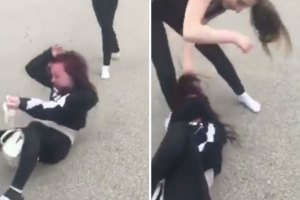 Cash Me Ousside Girls Gets Beatdown in the Streets
