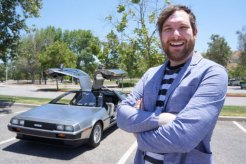 Man Ticketed For Hitting 88 MPH in his DeLorean