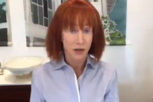 Kathy Griffin Apologizes For Beheaded Trump Photo