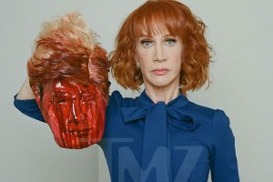 Kathy Griffin Beheads President Trump in New Photoshoot