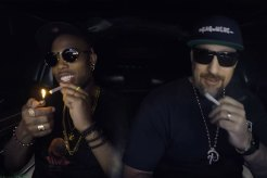 B.o.B Visits B-Real's The Smokebox