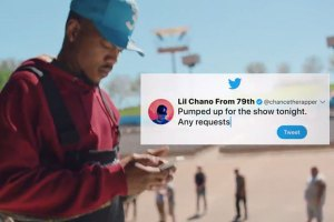 Chance the Rapper Appears in New Twitter Commercial