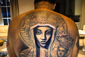 Diddy Back Tattoo by Nikko Hurtado