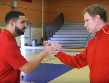 Drake & Will Ferrell Roast DeMar DeRozan