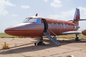 Elvis Presley's Private Jet