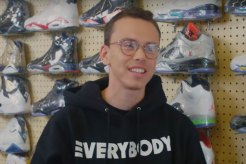 Logic Goes Sneaker Shopping in Los Angeles