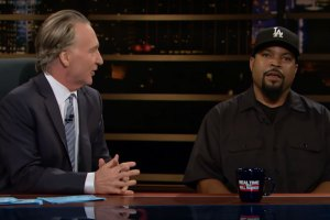 Bill Maher and Ice Cube