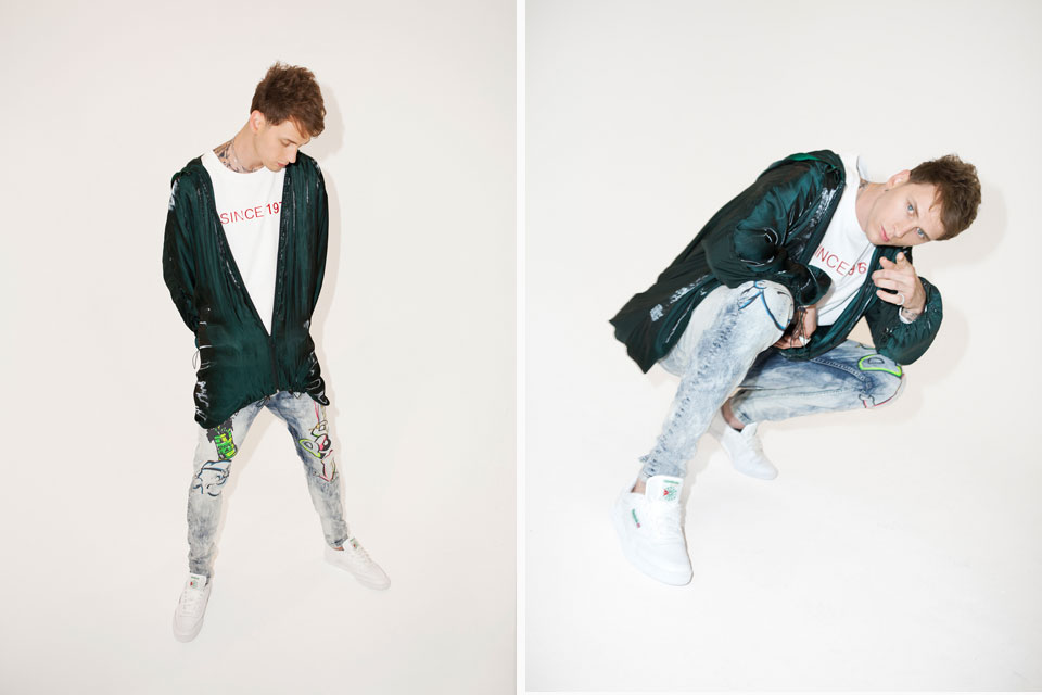 06fff5432d38 Machine Gun Kelly Becomes Newest Face for Reebok Classic