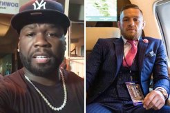 50 Cent and Conor McGregor