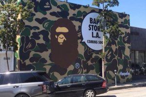 BAPE Los Angeles Store