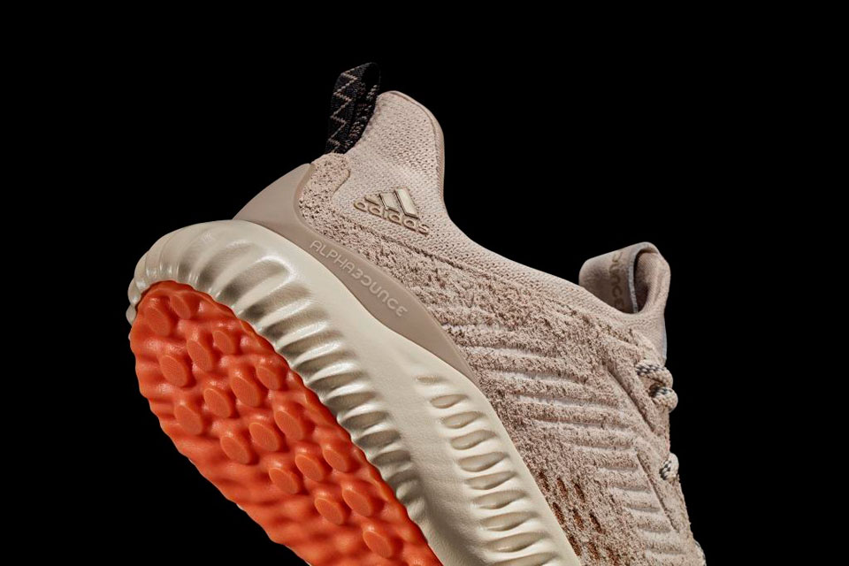 save off 92dde be6a7 Adidas Unveils alphaBounce Suede